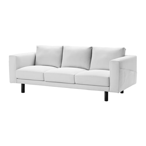 norsborg 3er sofa finnsta wei grau ikea. Black Bedroom Furniture Sets. Home Design Ideas