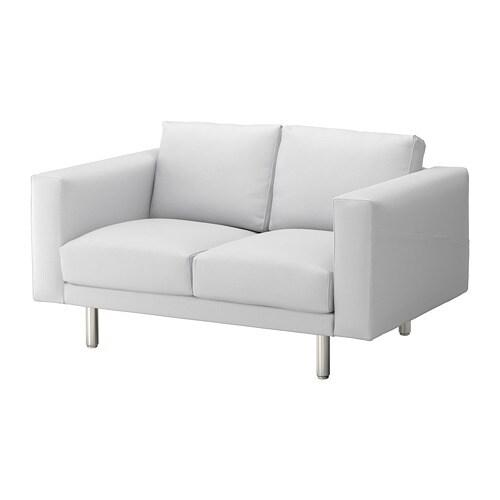norsborg 2er sofa finnsta wei metall ikea. Black Bedroom Furniture Sets. Home Design Ideas