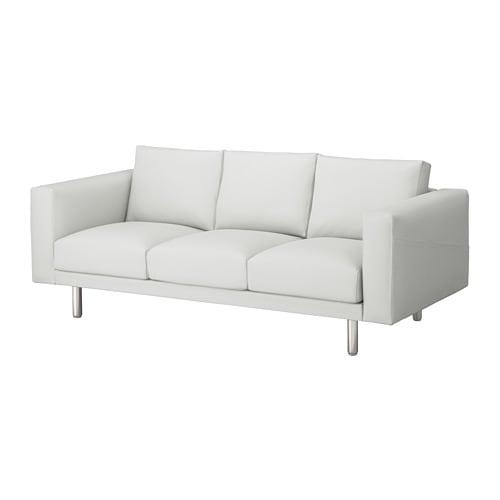 norsborg 3er sofa finnsta wei metall ikea. Black Bedroom Furniture Sets. Home Design Ideas
