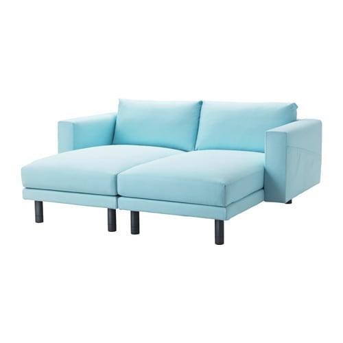 norsborg 2 r camieren edum hellblau grau ikea. Black Bedroom Furniture Sets. Home Design Ideas