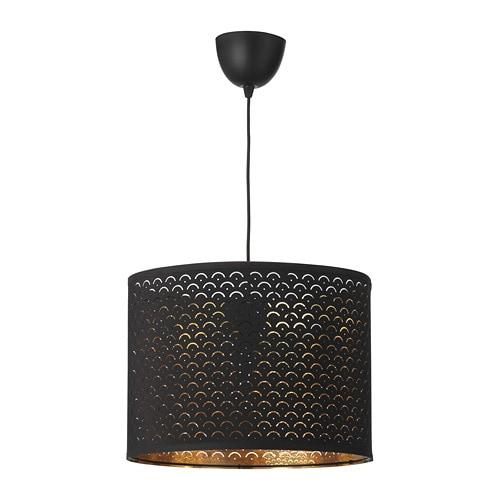 NYMÖ / SEKOND Hängeleuchte IKEA Durch Den Perforierten Schirm Entstehen  Interessante Licht  Und Schattenspiele Im
