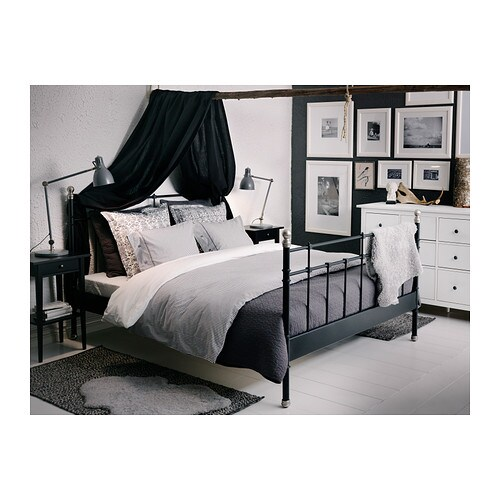 ikea designer bettw sche set bettgarnitur baumwolle 140 200 cm grau neu ovp traumfabrik xxl. Black Bedroom Furniture Sets. Home Design Ideas
