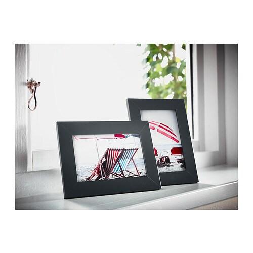 2 x bilderrahmen 10x15 cm schwarz holzbilderrahmen holzrahmen rahmen fotorahmen ebay. Black Bedroom Furniture Sets. Home Design Ideas