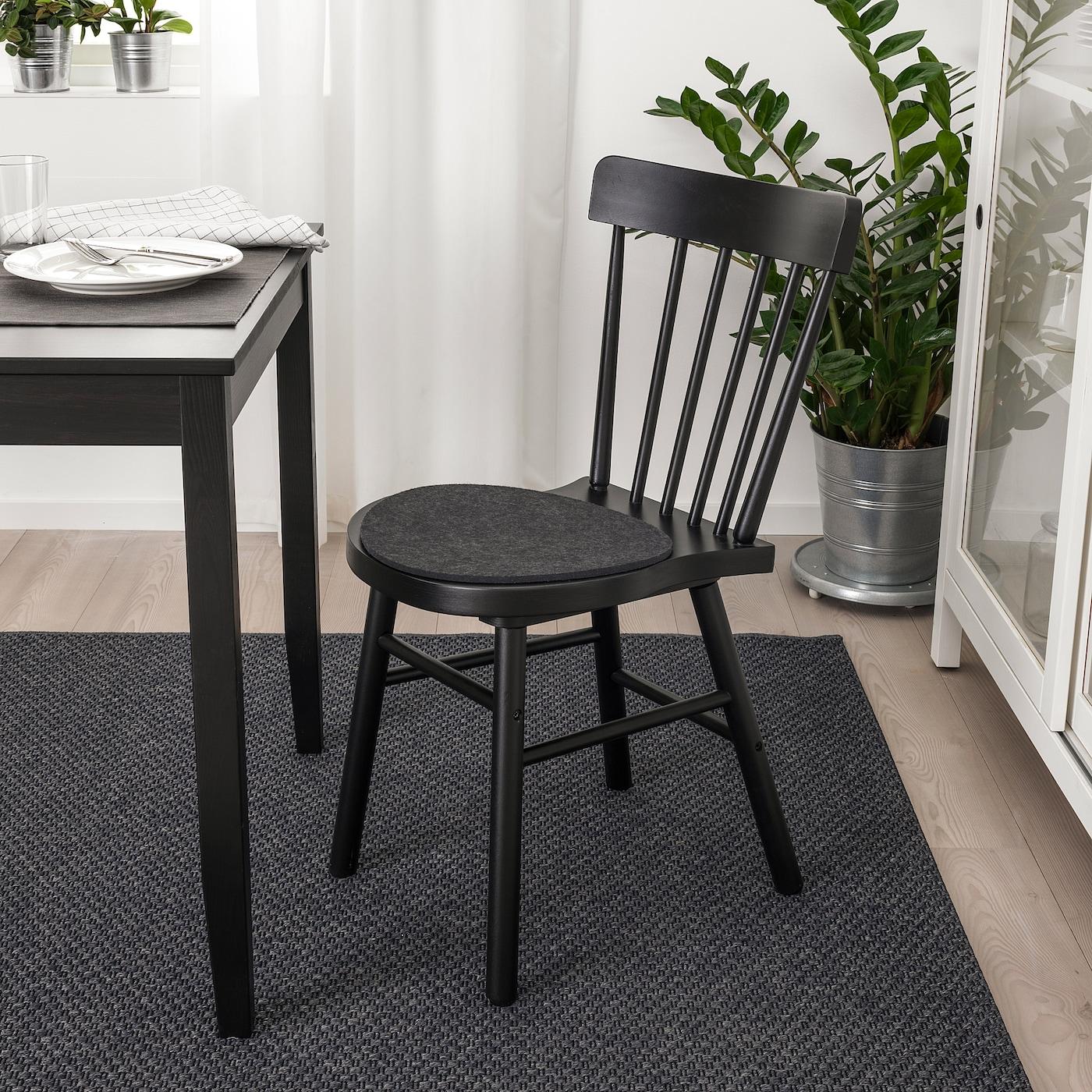 Oddbjorg Stuhlkissen Grau Ikea Deutschland