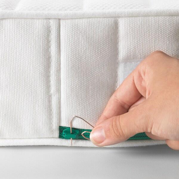 ÖMSINT Taschenfederkernmatr ausz Bettgest 165 cm 200 cm 130 cm 80 cm 12 cm