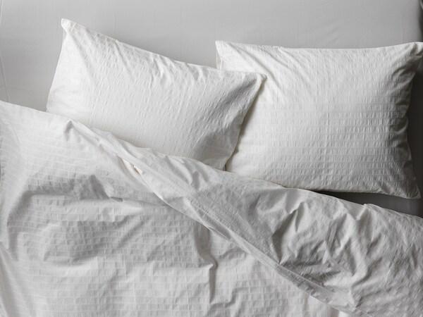 OFELIA VASS Bettwäscheset, 2-teilig, weiß, 140x200/80x80 cm