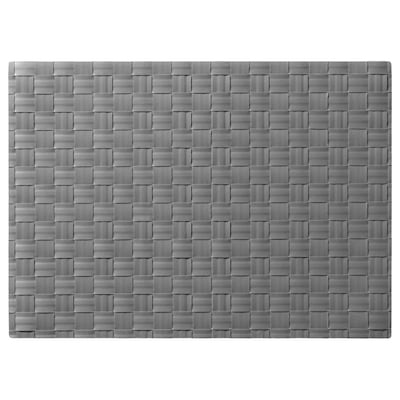 ORDENTLIG Tischset, grau, 46x33 cm