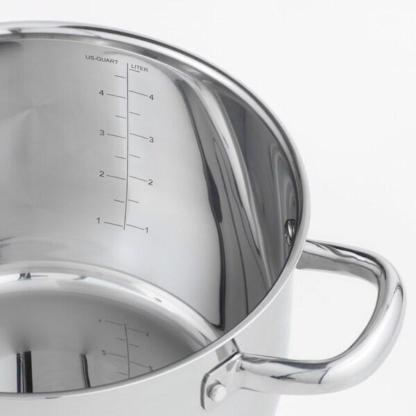 IKEA OUMBÄRLIG Topf mit deckel