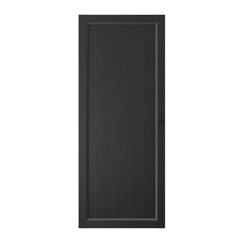 oxberg t r schwarzbraun ikea. Black Bedroom Furniture Sets. Home Design Ideas