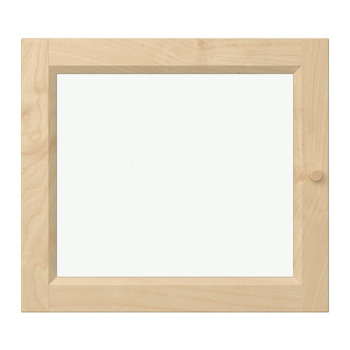 oxberg vitrinent r birkenfurnier ikea. Black Bedroom Furniture Sets. Home Design Ideas