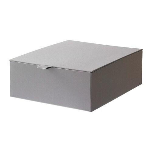 Build Kitchen Island Ikea Cabinets ~ PALLRA Box mit Deckel , grau Breite 27 cm Tiefe 22 cm Höhe 9 cm