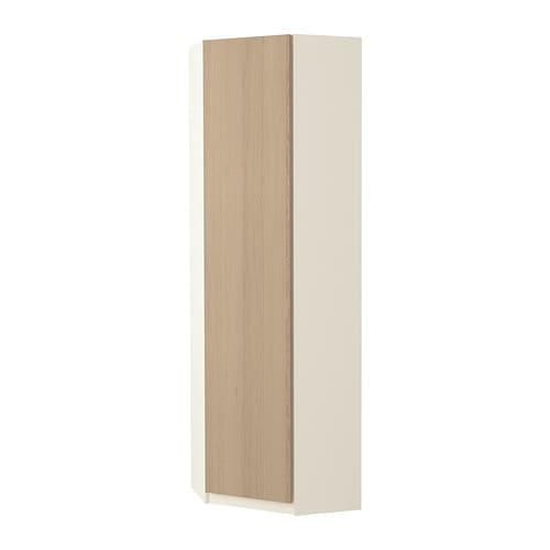 Etagere Rangement Jouet Ikea ~ PAX Eckkleiderschrank  Nexus Eichenfurnier weiß lasiert, weiß, 73