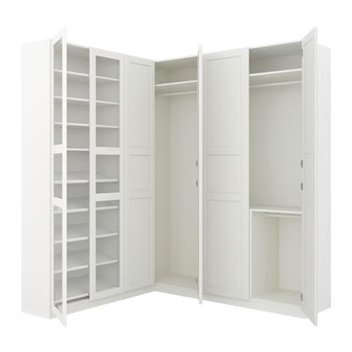 Eckkleiderschrank  PAX Eckkleiderschrank - 210/188x236 cm - IKEA