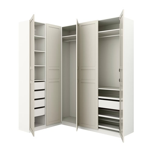 Eckkleiderschrank  PAX Eckkleiderschrank - 160/188x236 cm - IKEA