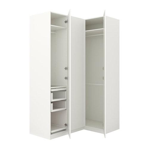 pax eckkleiderschrank 160 111x236 cm ikea. Black Bedroom Furniture Sets. Home Design Ideas