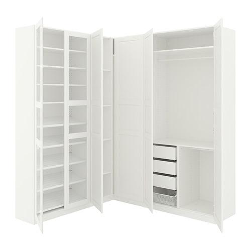 Pax Eckkleiderschrank 210188x236 Cm Ikea