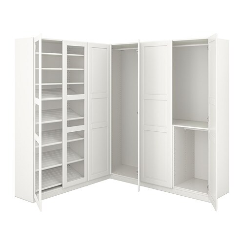 pax eckkleiderschrank 210 188x201 cm ikea. Black Bedroom Furniture Sets. Home Design Ideas