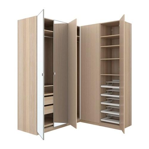 PAX Eckkleiderschrank - 210/160x236 cm - IKEA