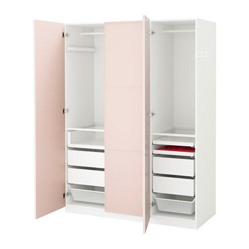 pax kleiderschrank 150x60x201 cm scharnier sanft schlie end ikea. Black Bedroom Furniture Sets. Home Design Ideas
