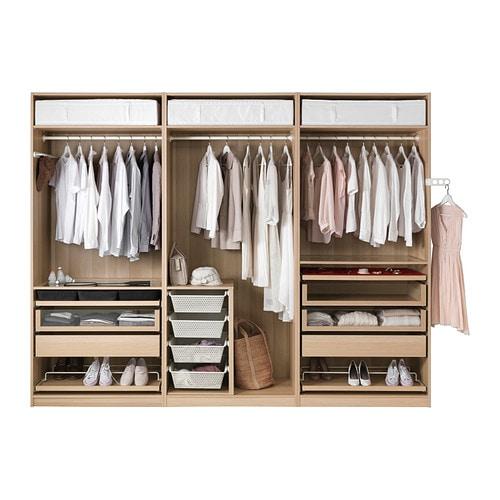 ikea pax holz. Black Bedroom Furniture Sets. Home Design Ideas