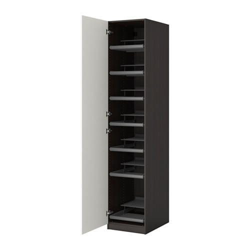 pax kleiderschrank 50x60x236 cm scharnier sanft schlie end ikea. Black Bedroom Furniture Sets. Home Design Ideas