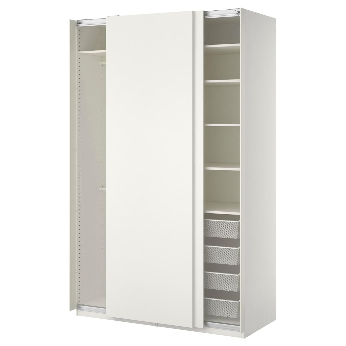 PAX Kleiderschrank - 150x66x236 cm, Schiebetürdämpfer - IKEA