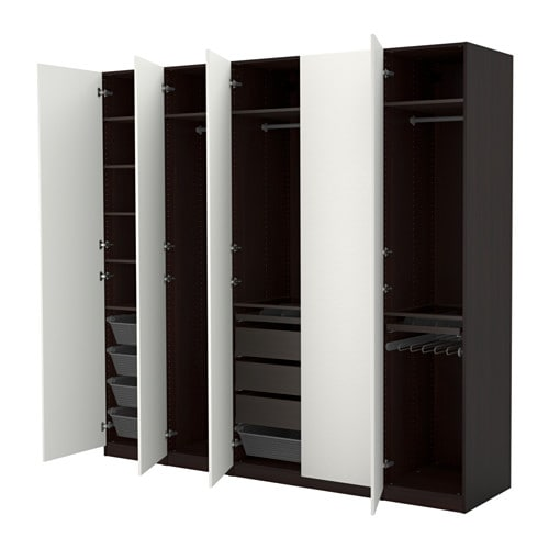 pax kleiderschrank 250x60x236 cm scharnier ikea. Black Bedroom Furniture Sets. Home Design Ideas