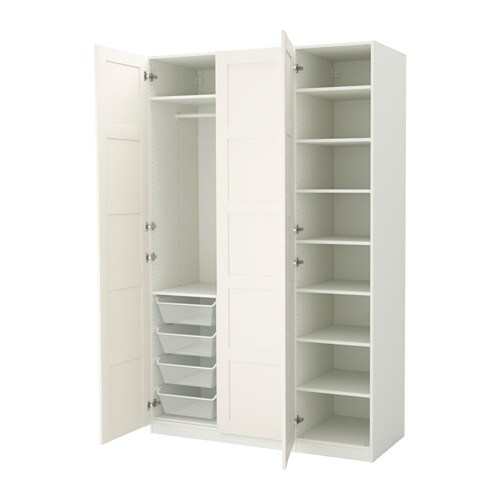 pax kleiderschrank 150x60x236 cm scharnier sanft schlie end ikea. Black Bedroom Furniture Sets. Home Design Ideas