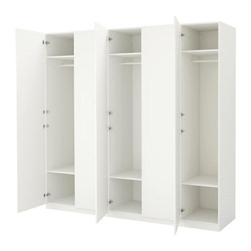 pax kleiderschrank 250x60x236 cm scharnier sanft schlie end ikea. Black Bedroom Furniture Sets. Home Design Ideas