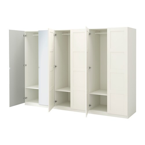 pax kleiderschrank 300x60x201 cm scharnier sanft schlie end ikea. Black Bedroom Furniture Sets. Home Design Ideas
