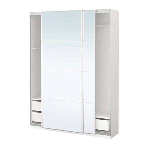 pax kleiderschrank 150x44x201 cm schiebet rd mpfer ikea. Black Bedroom Furniture Sets. Home Design Ideas