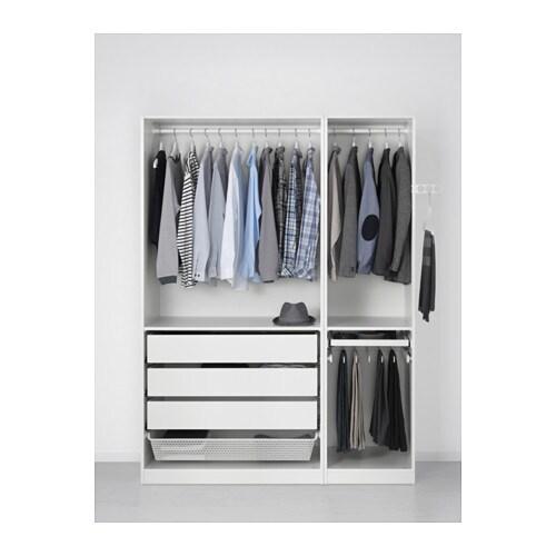 Kleiderschrank ikea pax  PAX Kleiderschrank - 150x60x236 cm, Scharnier, sanft schließend - IKEA