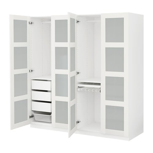 pax kleiderschrank 200x60x201 cm ikea. Black Bedroom Furniture Sets. Home Design Ideas