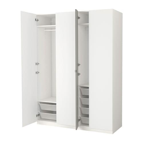 Kleiderschrank ikea mit spiegel  PAX Kleiderschranksystem - Kombination mit Türen - IKEA