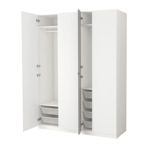 pax kleiderschrank 175x60x236 cm ikea. Black Bedroom Furniture Sets. Home Design Ideas