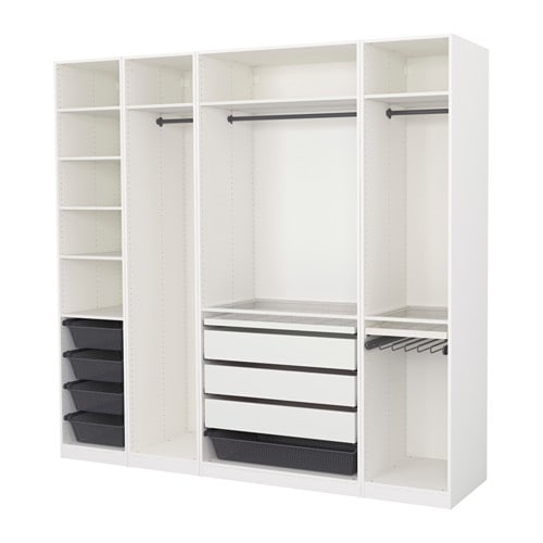 pax kleiderschrank 250x58x236 cm ikea. Black Bedroom Furniture Sets. Home Design Ideas