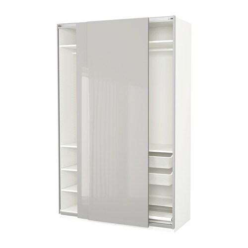pax kleiderschrank 150x66x236 cm ikea. Black Bedroom Furniture Sets. Home Design Ideas