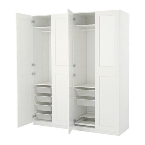 Kleiderschrank ikea pax  PAX Kleiderschrank - 200x60x236 cm, Scharnier, sanft schließend - IKEA