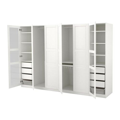 pax kleiderschrank 300x60x201 cm scharnier ikea. Black Bedroom Furniture Sets. Home Design Ideas