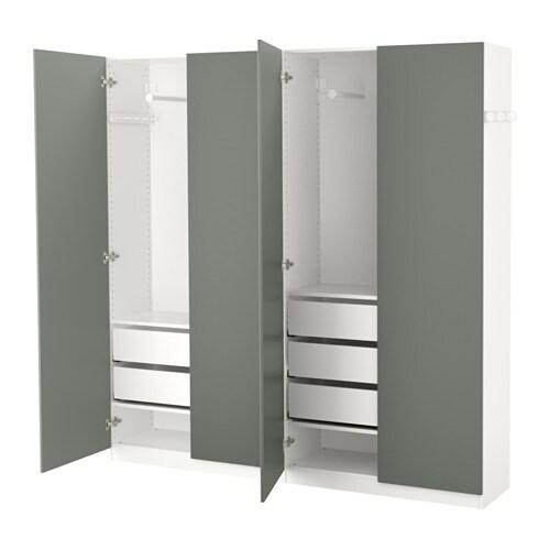 Schrank ikea pax  PAX Kleiderschrank - 200x38x201 cm, Scharnier - IKEA