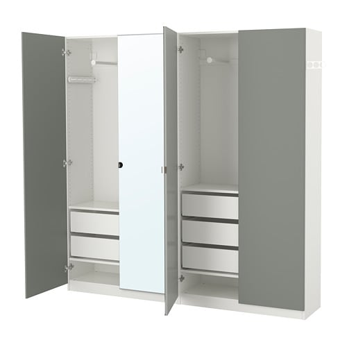 Pax Kleiderschrank 200x38x201 Cm Ikea