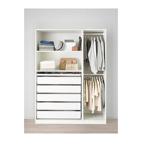 pax kleiderschrank 150x58x201 cm ikea. Black Bedroom Furniture Sets. Home Design Ideas