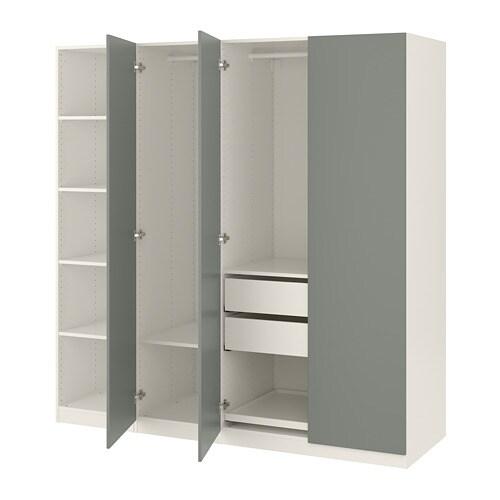 Pax Kleiderschrank 200x60x201 Cm Ikea