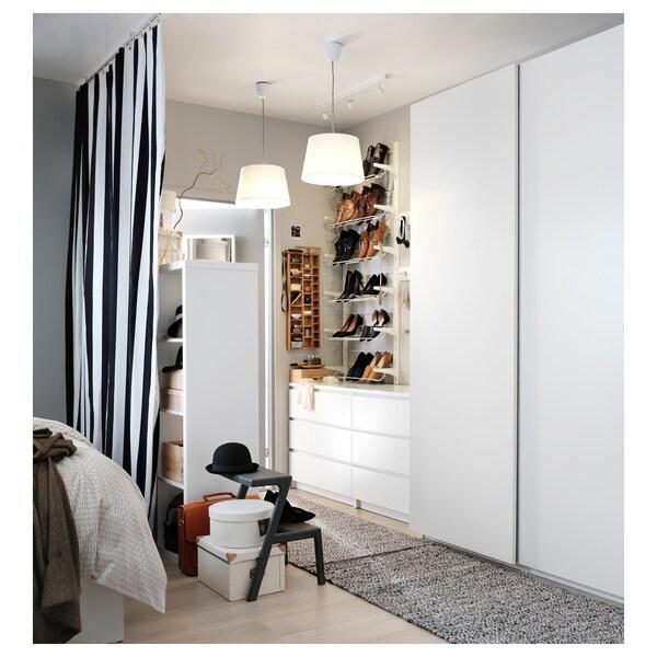 PAX Kleiderschrank, weiß/Hasvik weiß, 150x66x236 cm