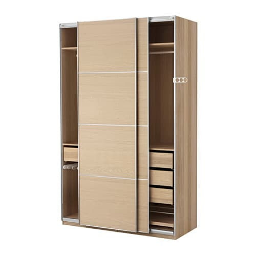 pax kleiderschrank. Black Bedroom Furniture Sets. Home Design Ideas