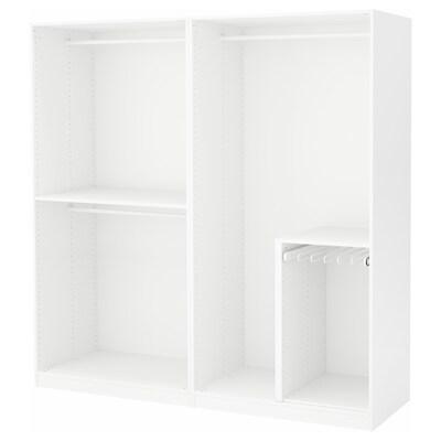 PAX Kleiderschrank weiß 200.0 cm 58.0 cm 201.2 cm