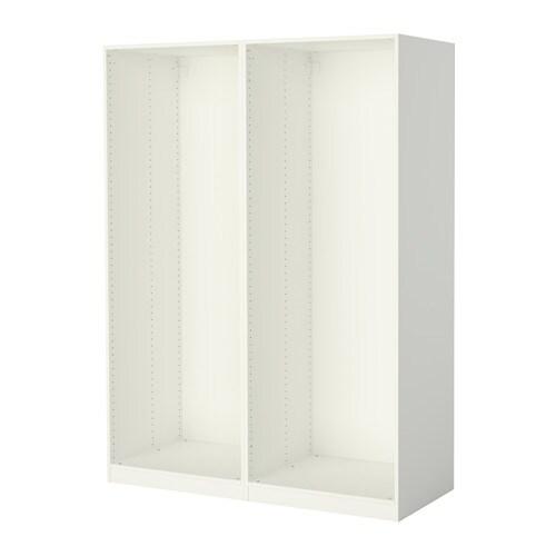 Ikea schrank weiß schiebetüren  PAX Korpus für Schiebetüren günstig online kaufen - IKEA