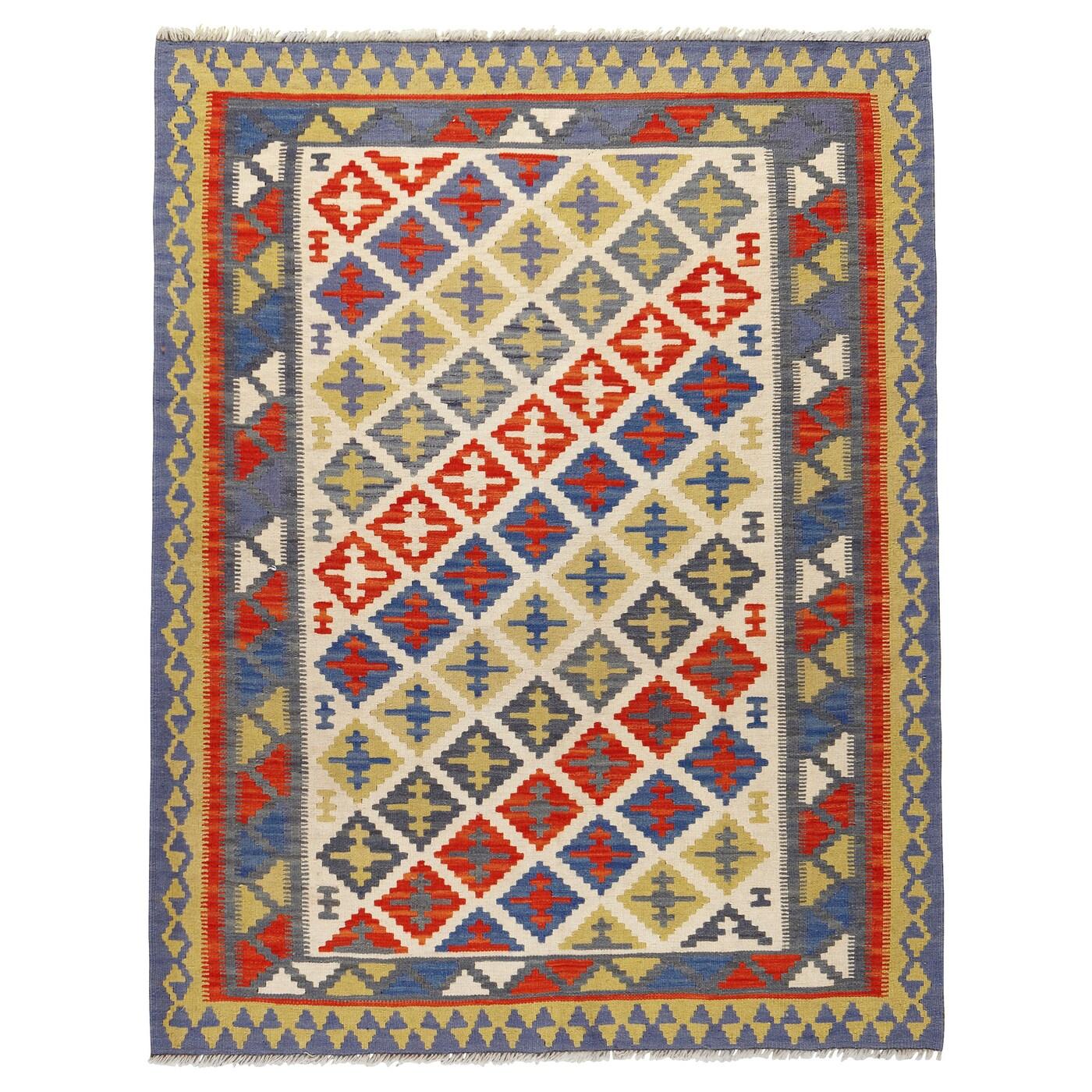 Persisk kelim gashgai teppich flach gewebt  0130084 pe284320 s5
