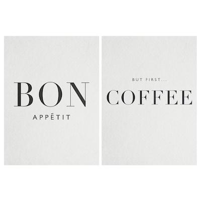 PJÄTTERYD Bild, Bon Appétit, 28x38 cm