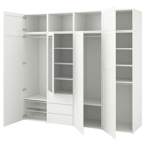 IKEA PLATSA Kleiderschrank mit 7 tü.+3 schubl.